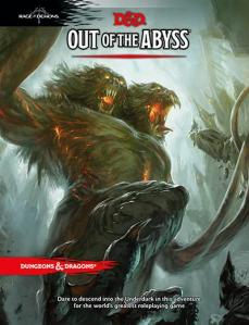 Capa da Out of the Abyss, a próxima saga do D&D.
