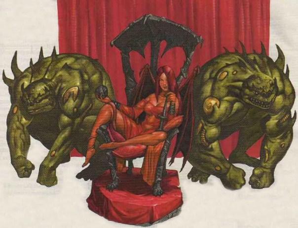 """Mortalha Rubra, por Ben Wootten. Fonte: Dungeon Magazine #148 (""""Well of Darkness"""")"""
