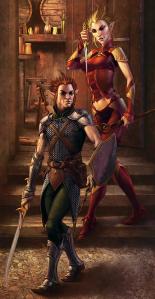 Gnomos. Fonte: Livro do Jogador II do D&D 4e