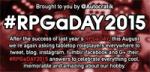 logo #RPGaSAY2015