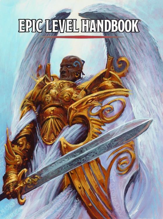 Epic Level Handbook lançado pela DM's Guild