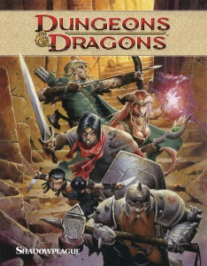 Quadrinho: Dungeons & Dragons - Shadowplague