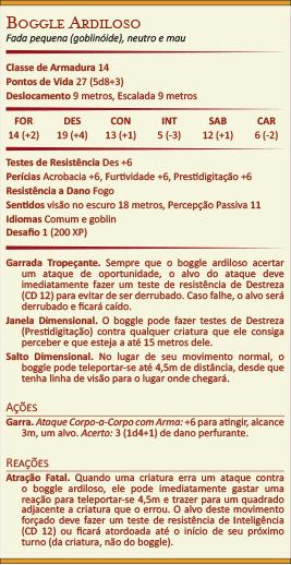 Ficha do Boggle Ardiloso
